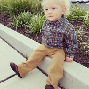 Custom Long Pants – Hemmed or Ruffled Finish