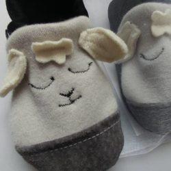KeeWeeFeet Slippers – Little Lamb