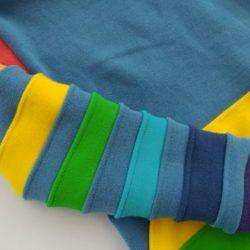 Sheepy Hug – Rainbow or Multi-Coloured Sleeves